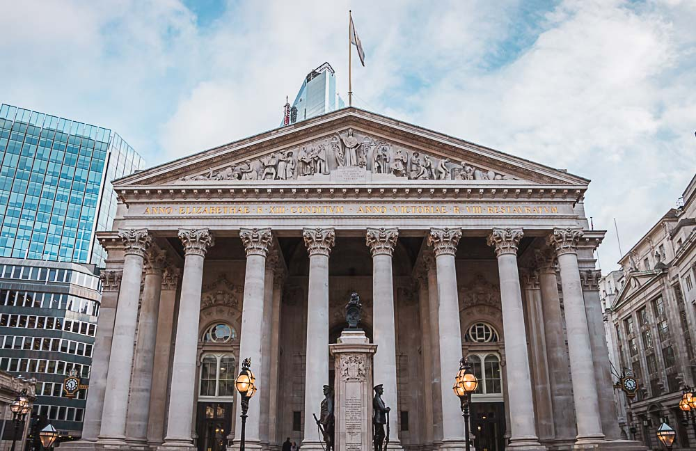Bank of England in der City of London