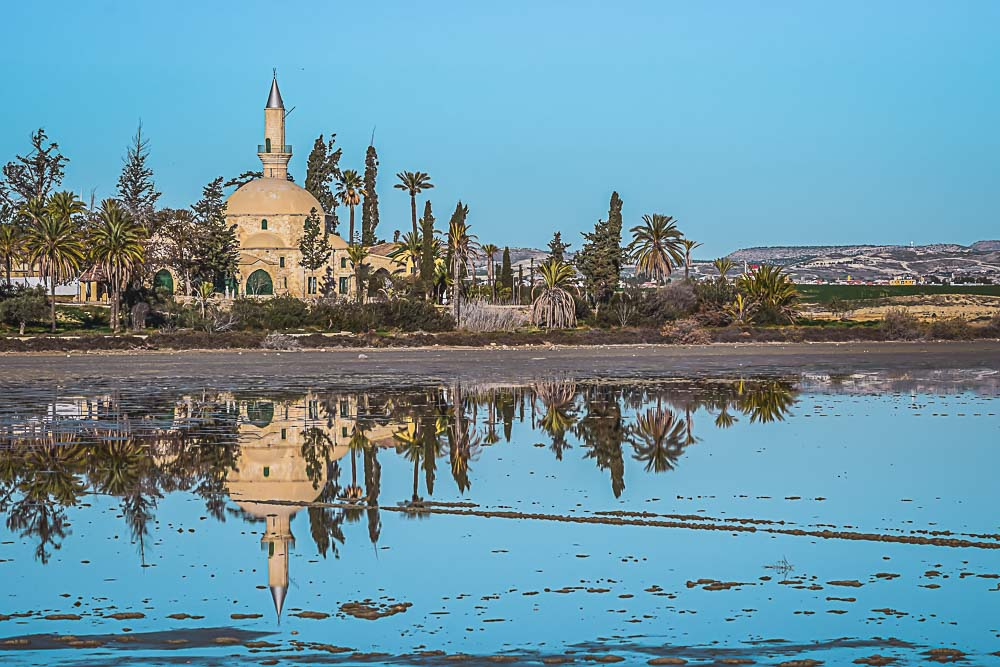 Hala Sultan Tekke in Larnaka in Zypern