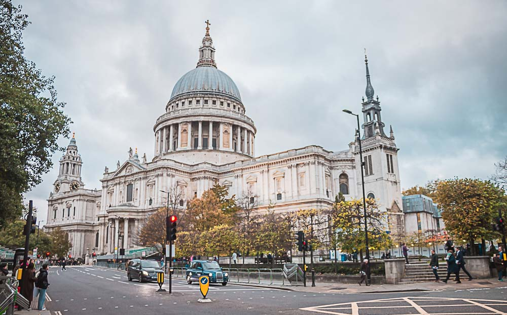 St. Paul´s Cathedral im Zentrum von London