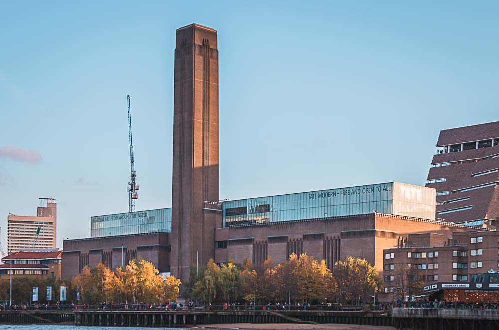Gebäude des Tate Modern Art Museum in London