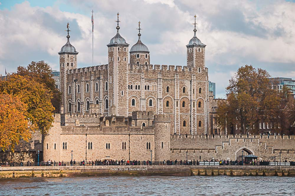 Tower of London und die Themse