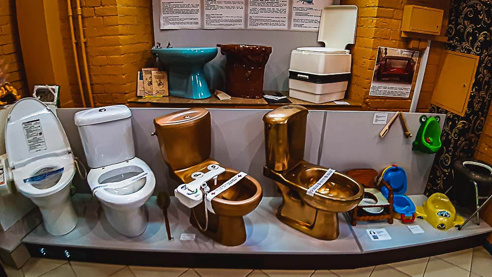 Museum of Toilet History in Kiew, Ukraine