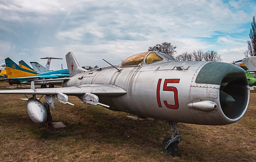 Oleg Antonov State Aviation Museum in Kiew, Ukraine
