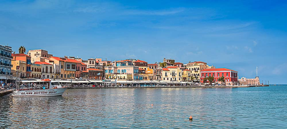 Chania in Kreta, Griechenland