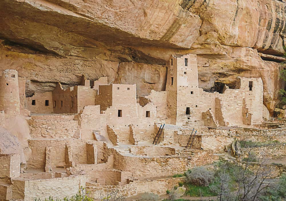 Cliff Palace im Mesa Verde Nationalpark, USA