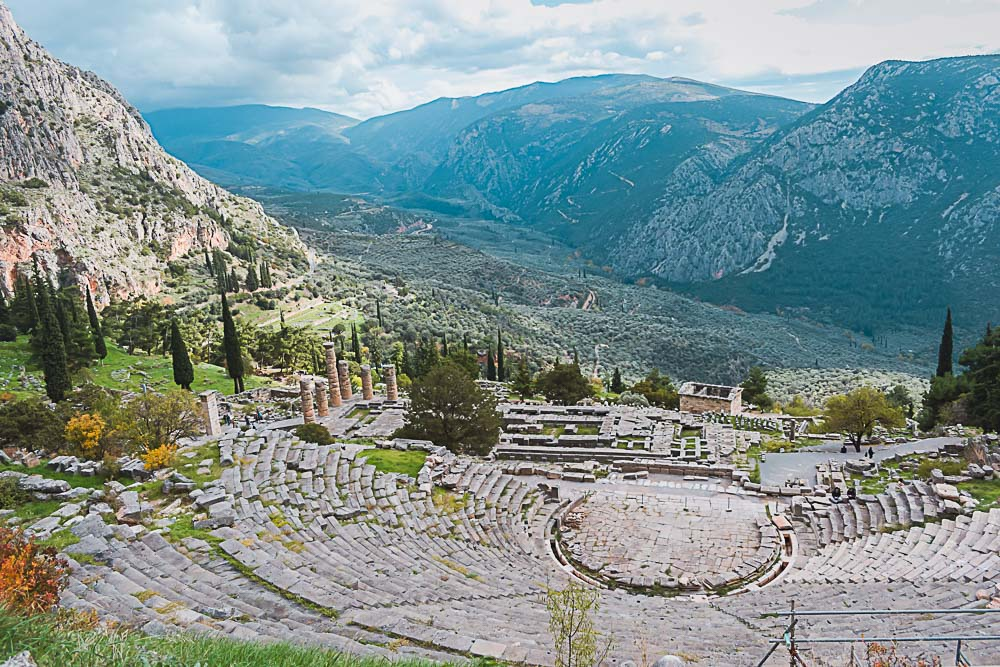 Delphi Theater in Griechenland