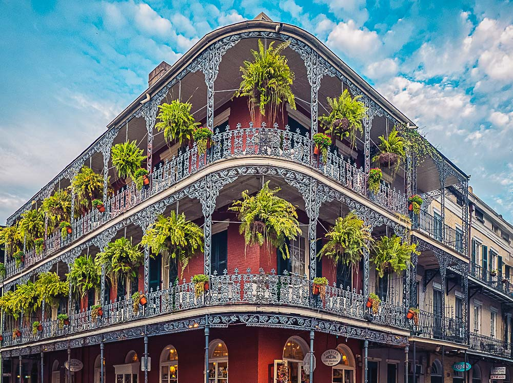 French Quarter in New Orleans, USA