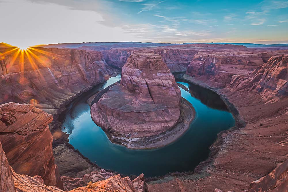 Horseshoe Bend in den USA