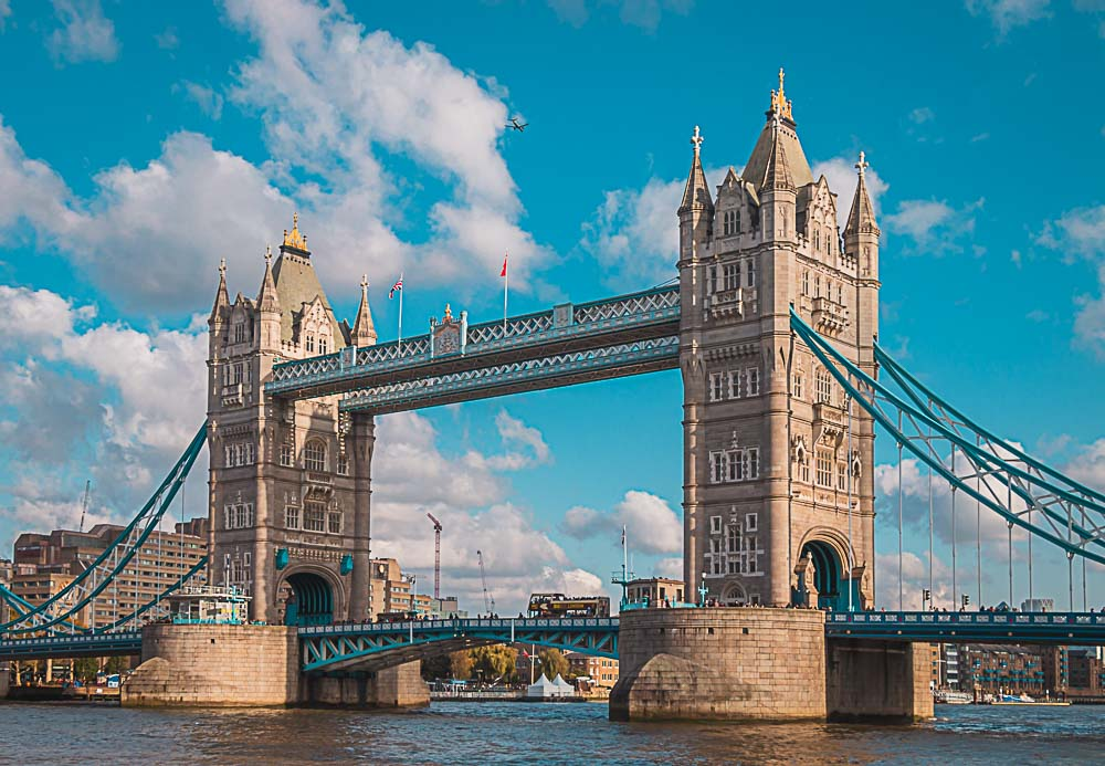 Tower Bridge London Vereinigtes Königreich