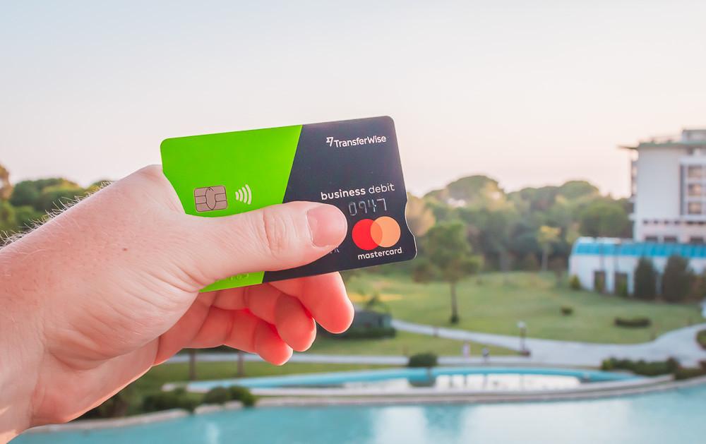 Transferwise for Business Mastercard Debit Kreditkarte