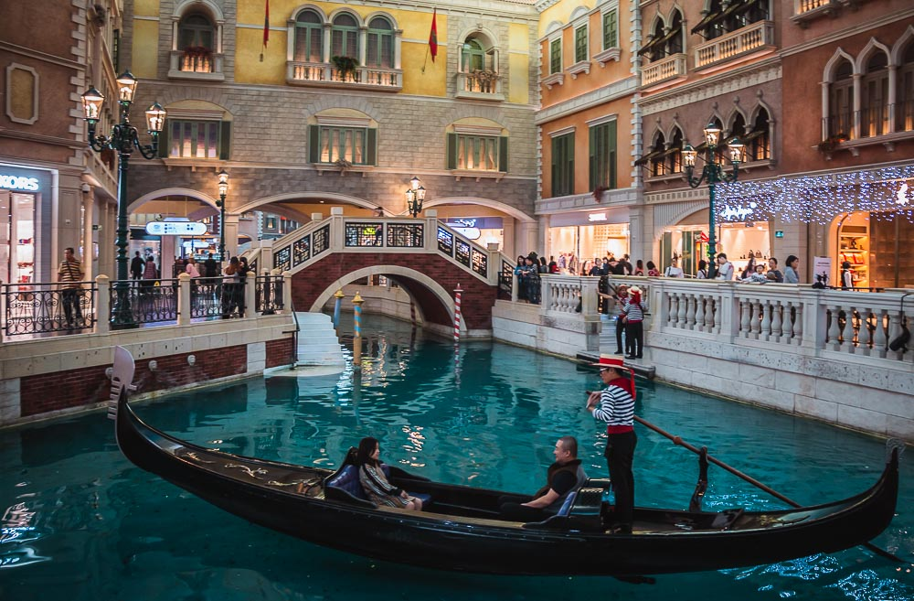Venecian Hotel in Macao in China