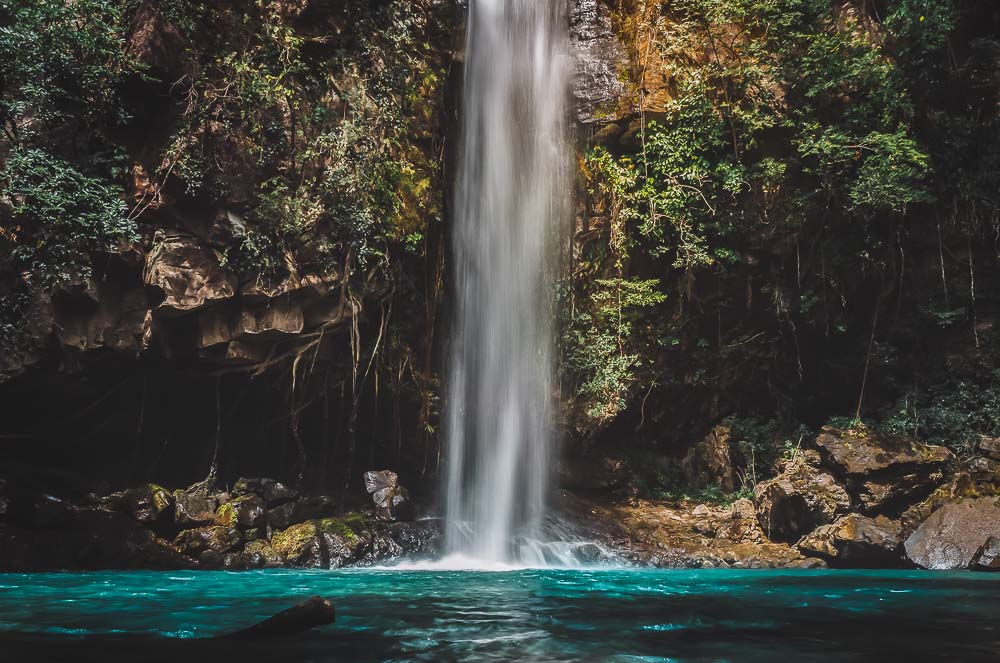 Wasserfall in Coast Rica