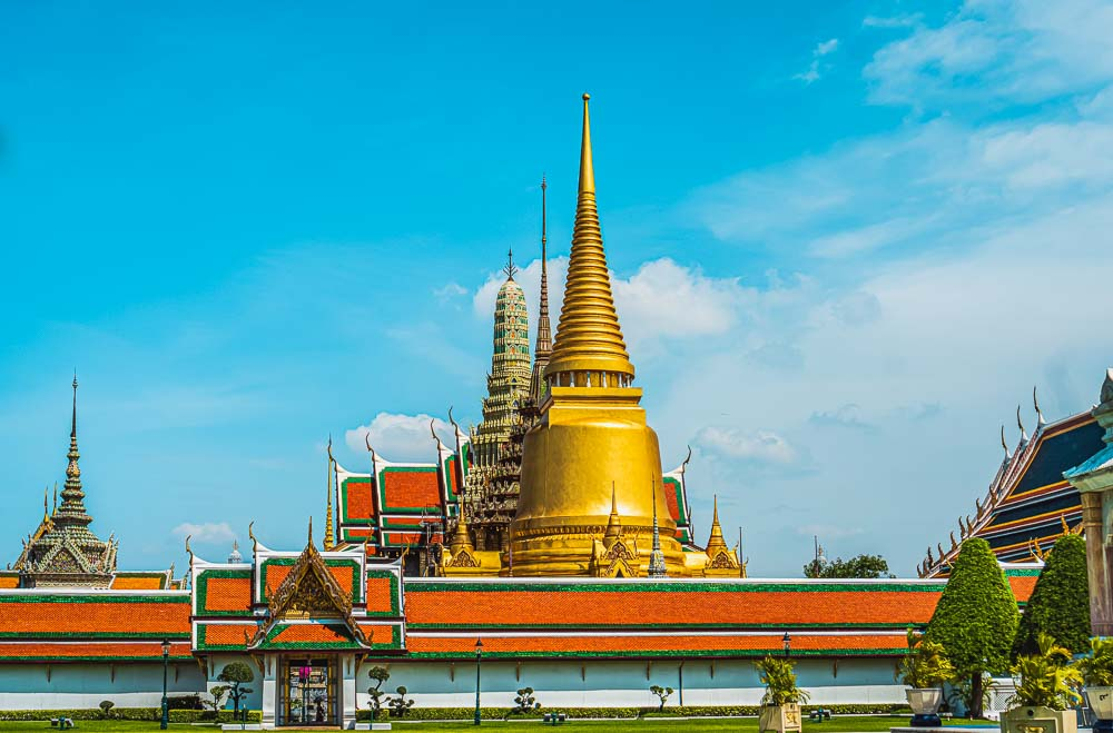 Grand Palace in Bankgok in Thailand