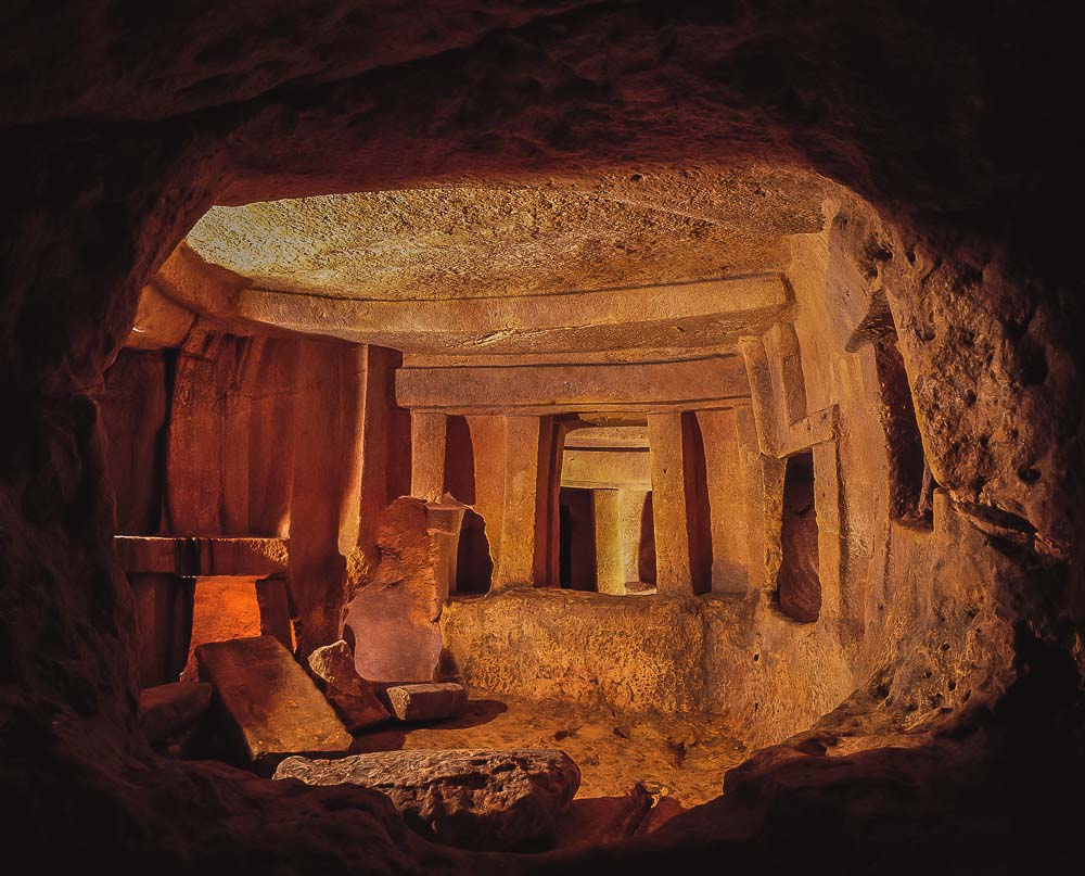 Hypogeum in Malta: Copyright viewingmalta.com
