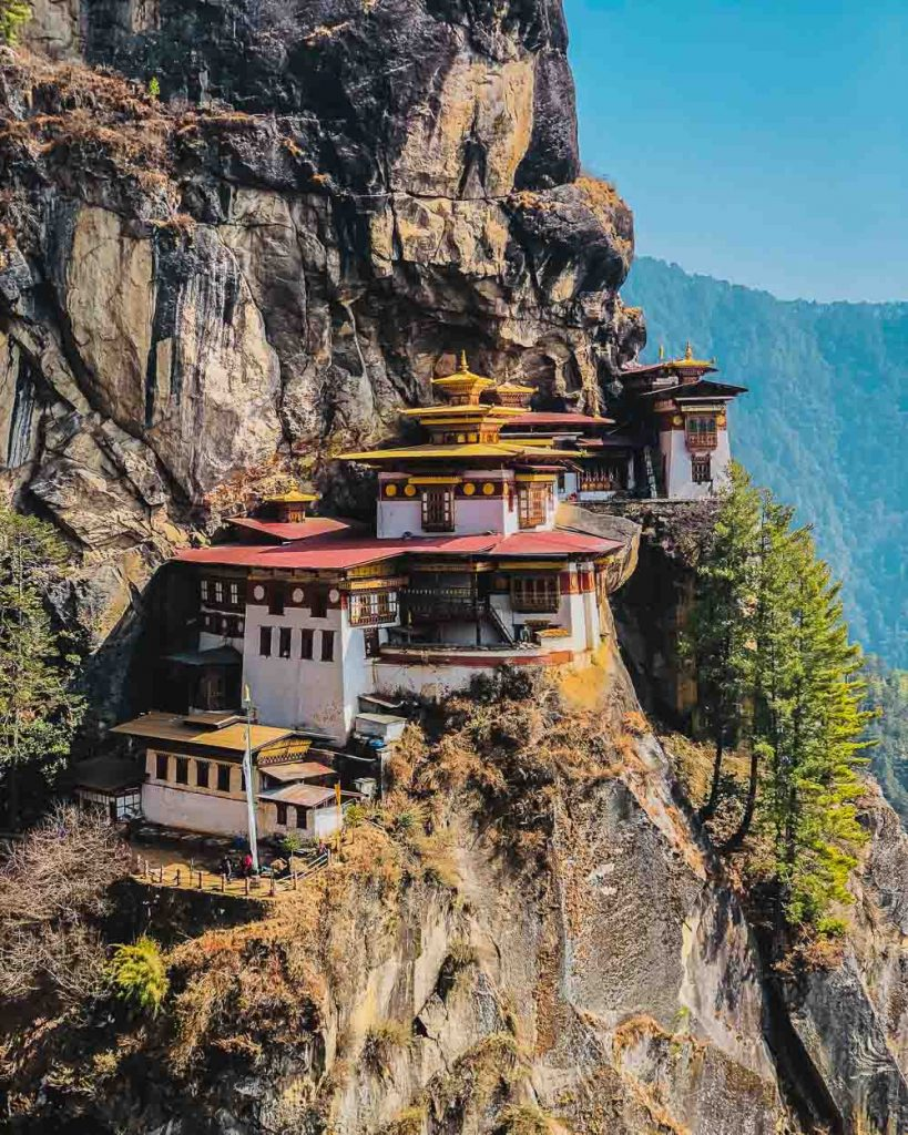 Tigers Nest in Buthan