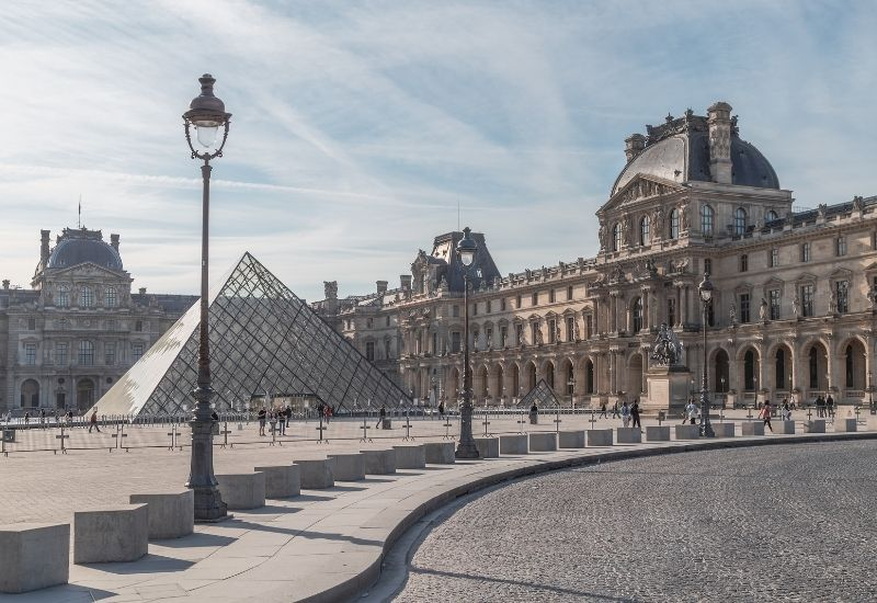 Musee du Louvre in Frankreich